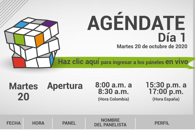 La agenda del Congreso Internacional +Diversos